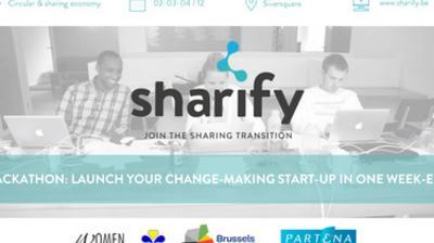 613a55a8a780e2 Sharify est une initiative de trois jeunes entrepreneurs qui a pour mission  de stimuler l'entreprenariat dans les nouveaux modèles économiques.